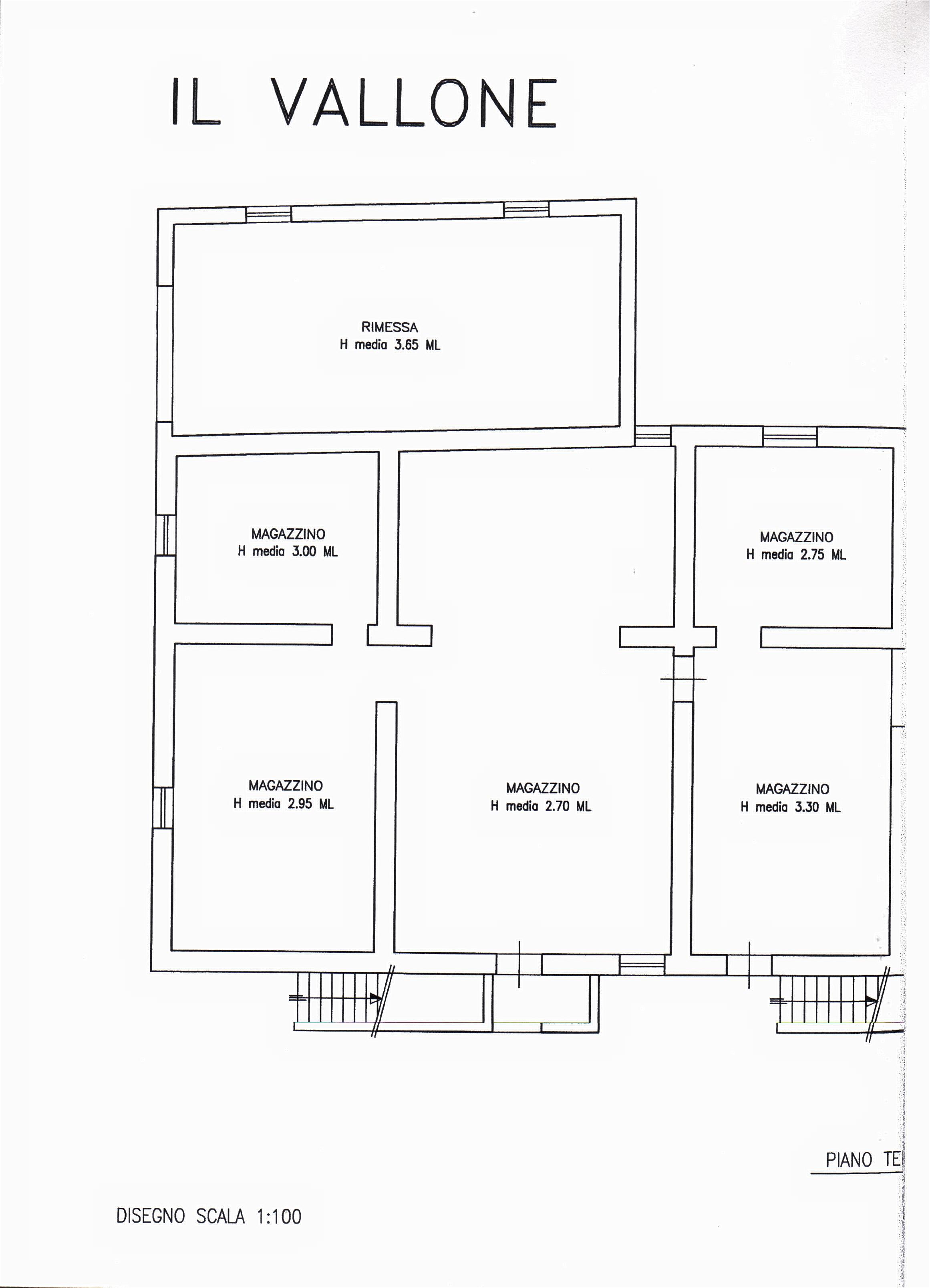 Planimetria 1/3 per rif. sd5162v