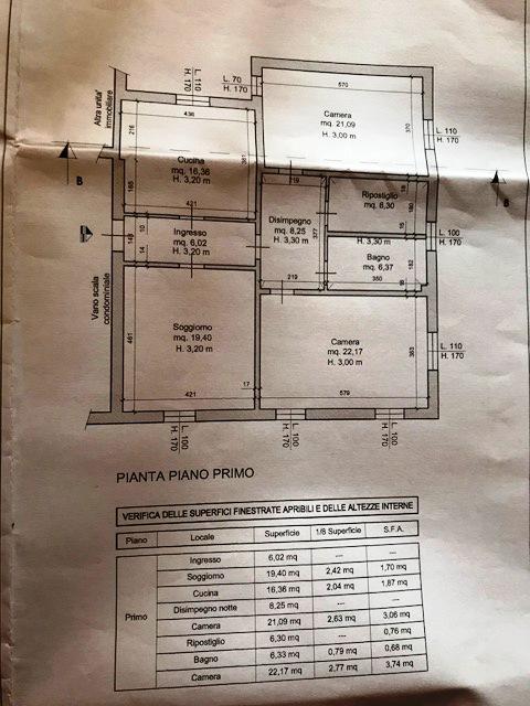 Planimetria /1 per rif. Sd5193v