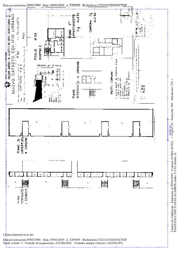 Planimetria /1 per rif. sd5227v