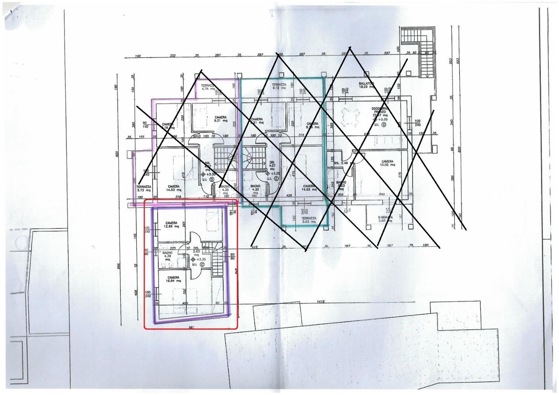 Planimetria 1/2 per rif. sd5244v