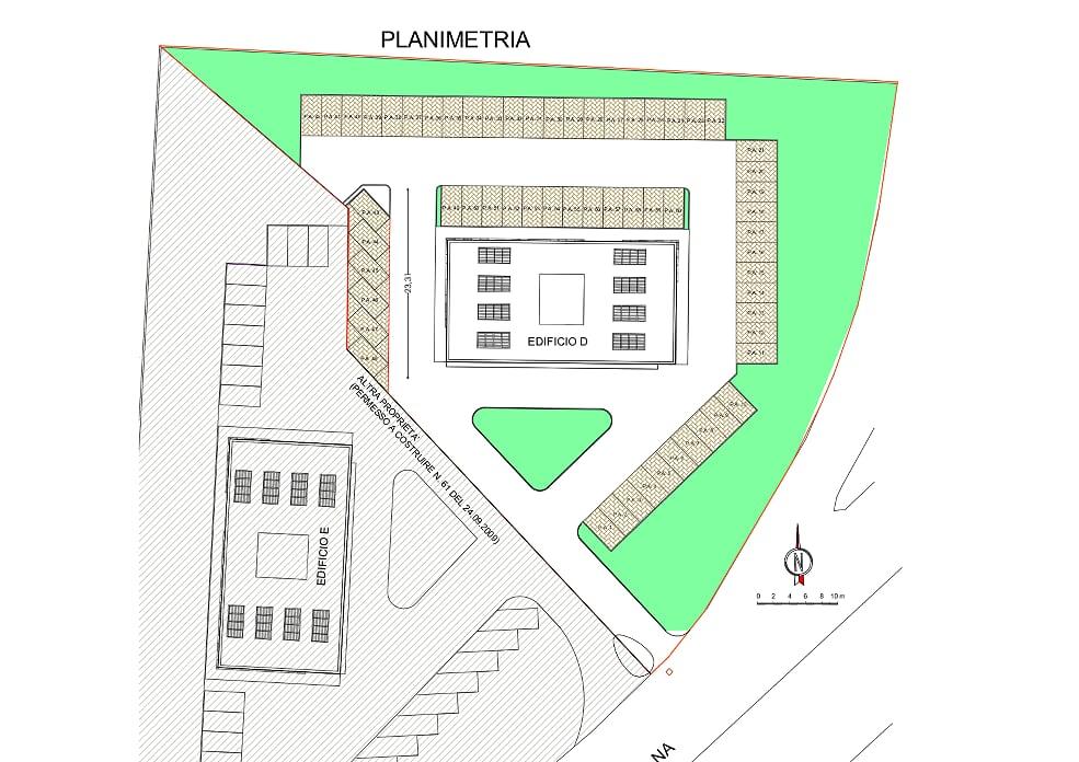 Planimetria /4 per rif. sd5249v