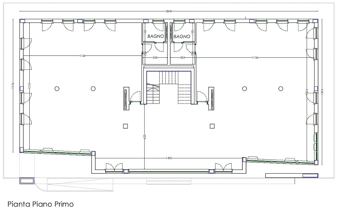 Planimetria 1/4 per rif. sd5249v