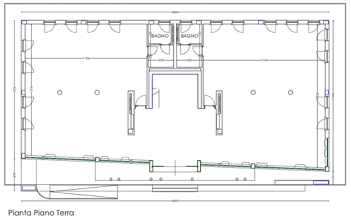 Planimetria 2/4 per rif. sd5249v