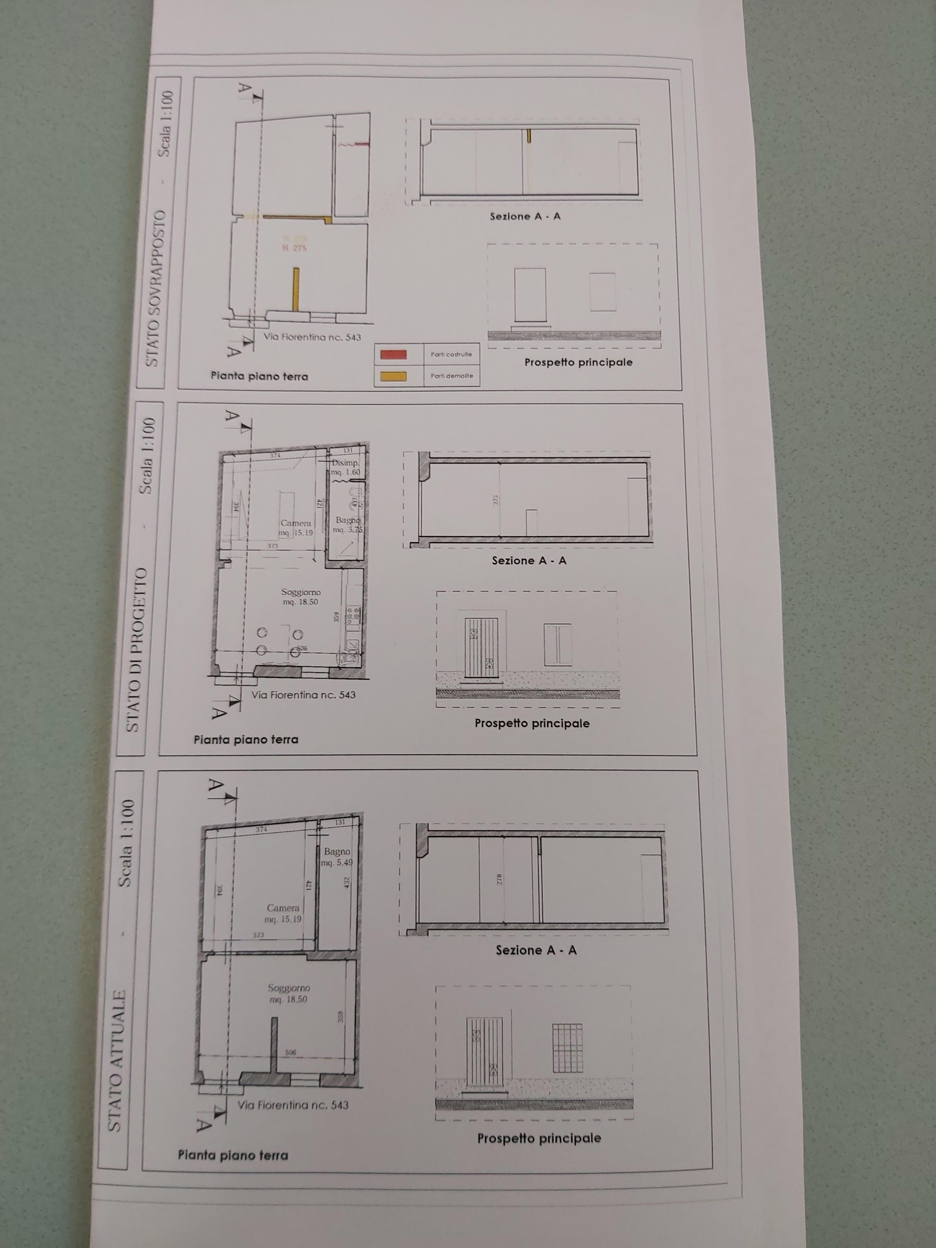 Planimetria /1 per rif. sd5293v