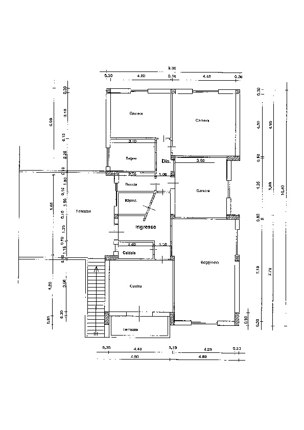 Planimetria /1 per rif. sd5628v