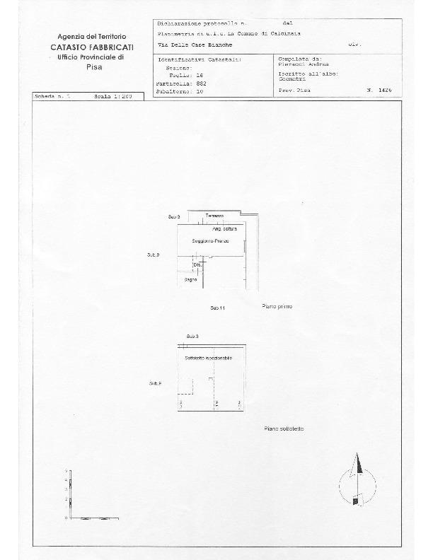 Planimetria /1 per rif. sd5630v