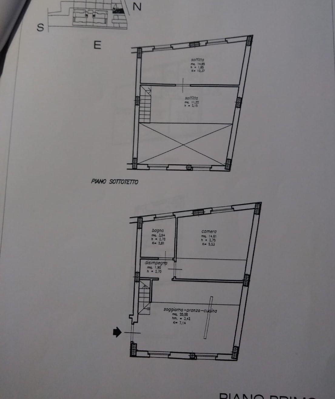 Planimetria /1 per rif. sd5720v