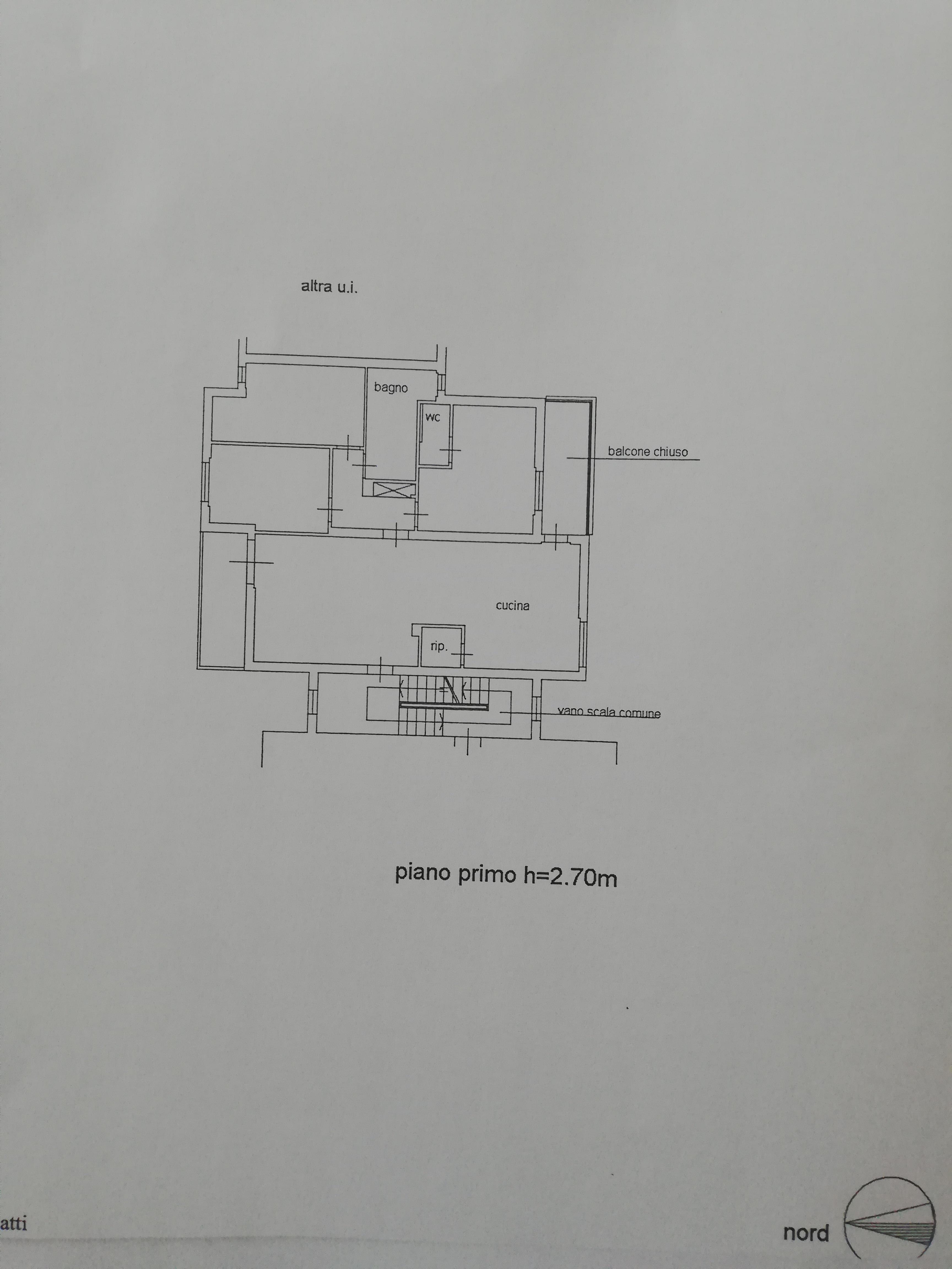 Planimetria /1 per rif. SD5730V