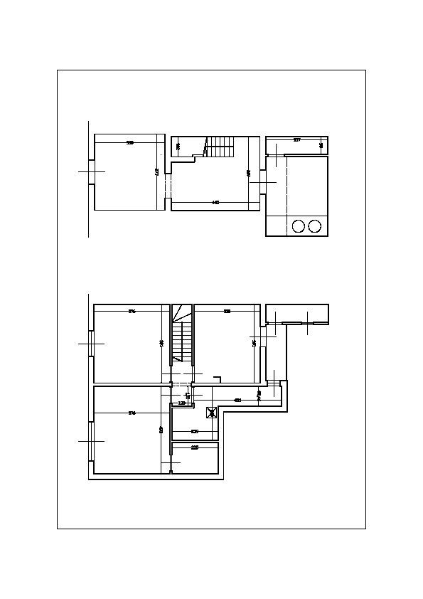 Planimetria /1 per rif. sd5734v