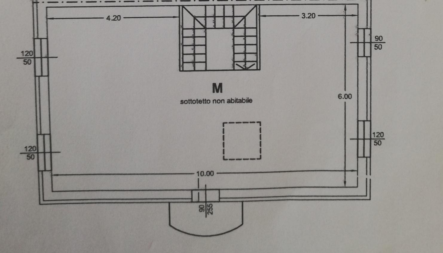Planimetria 2/3 per rif. sd5183v