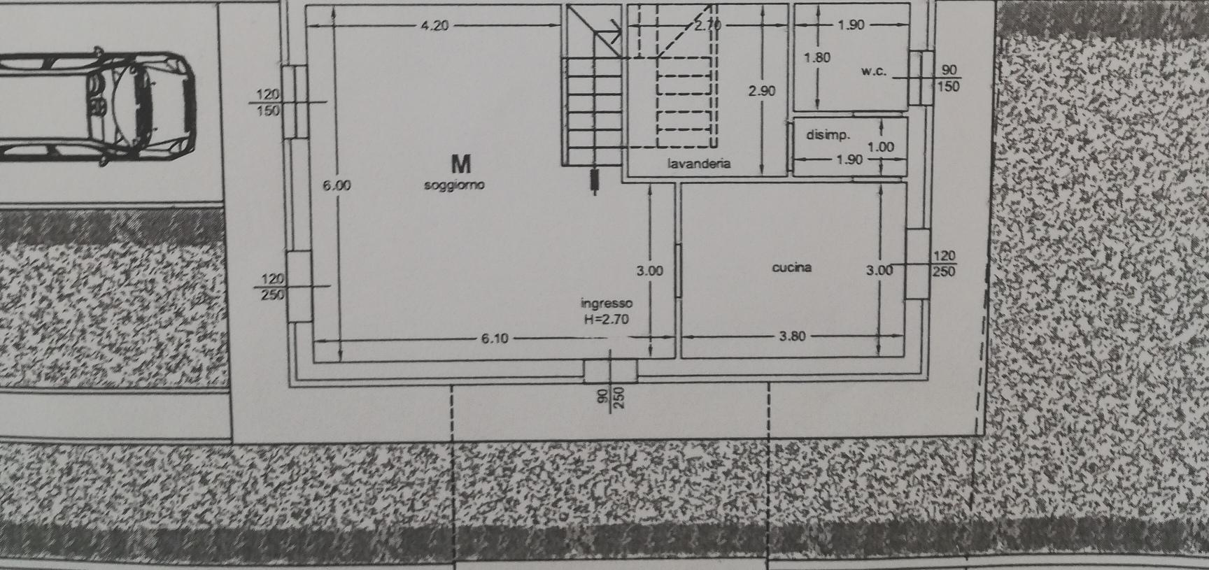 Planimetria /3 per rif. sd5183v