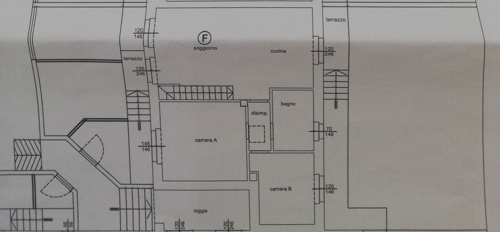 Planimetria /2 per rif. sd5199v