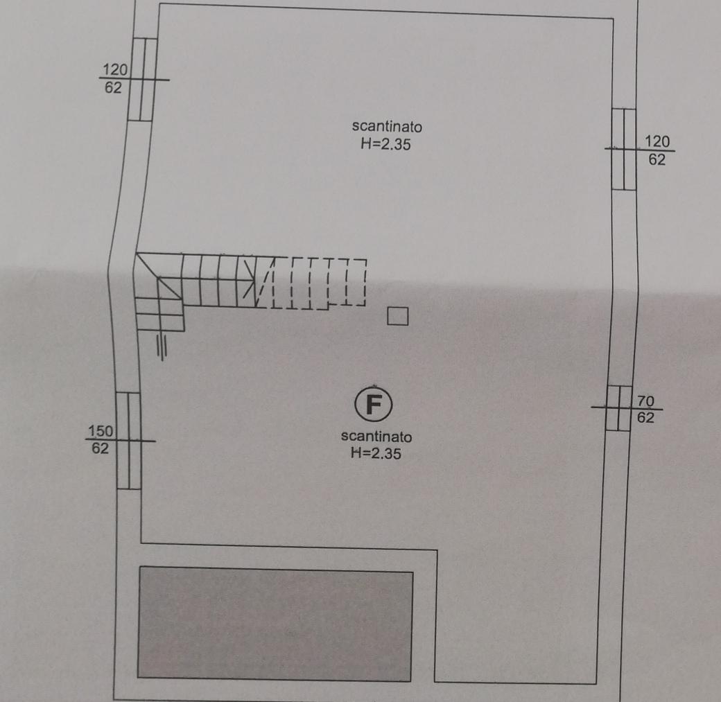 Planimetria 1/2 per rif. sd5199v
