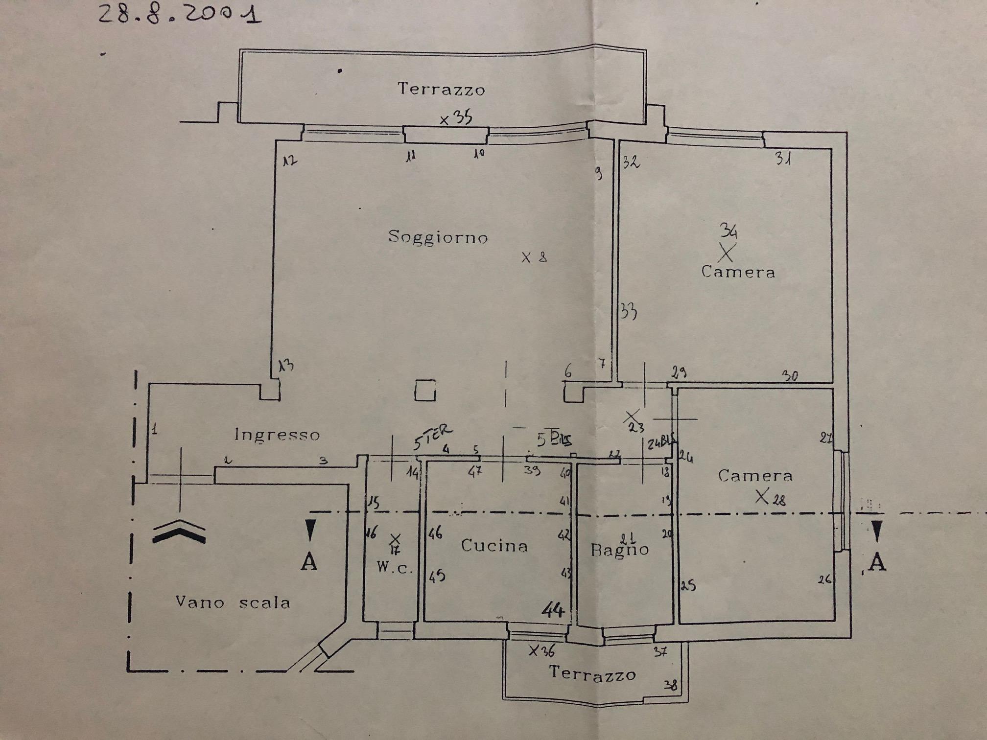 Planimetria /1 per rif. sd5774a