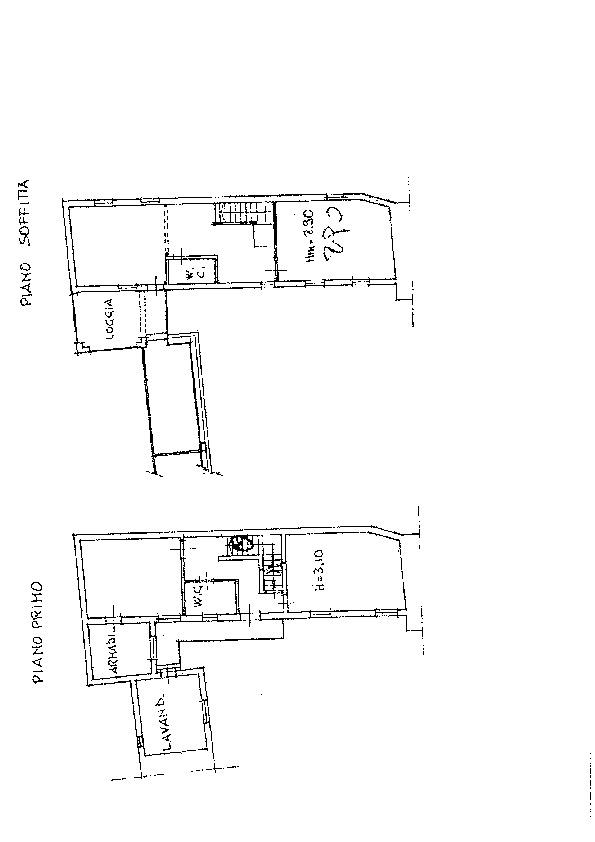 Planimetria /1 per rif. sd5799v