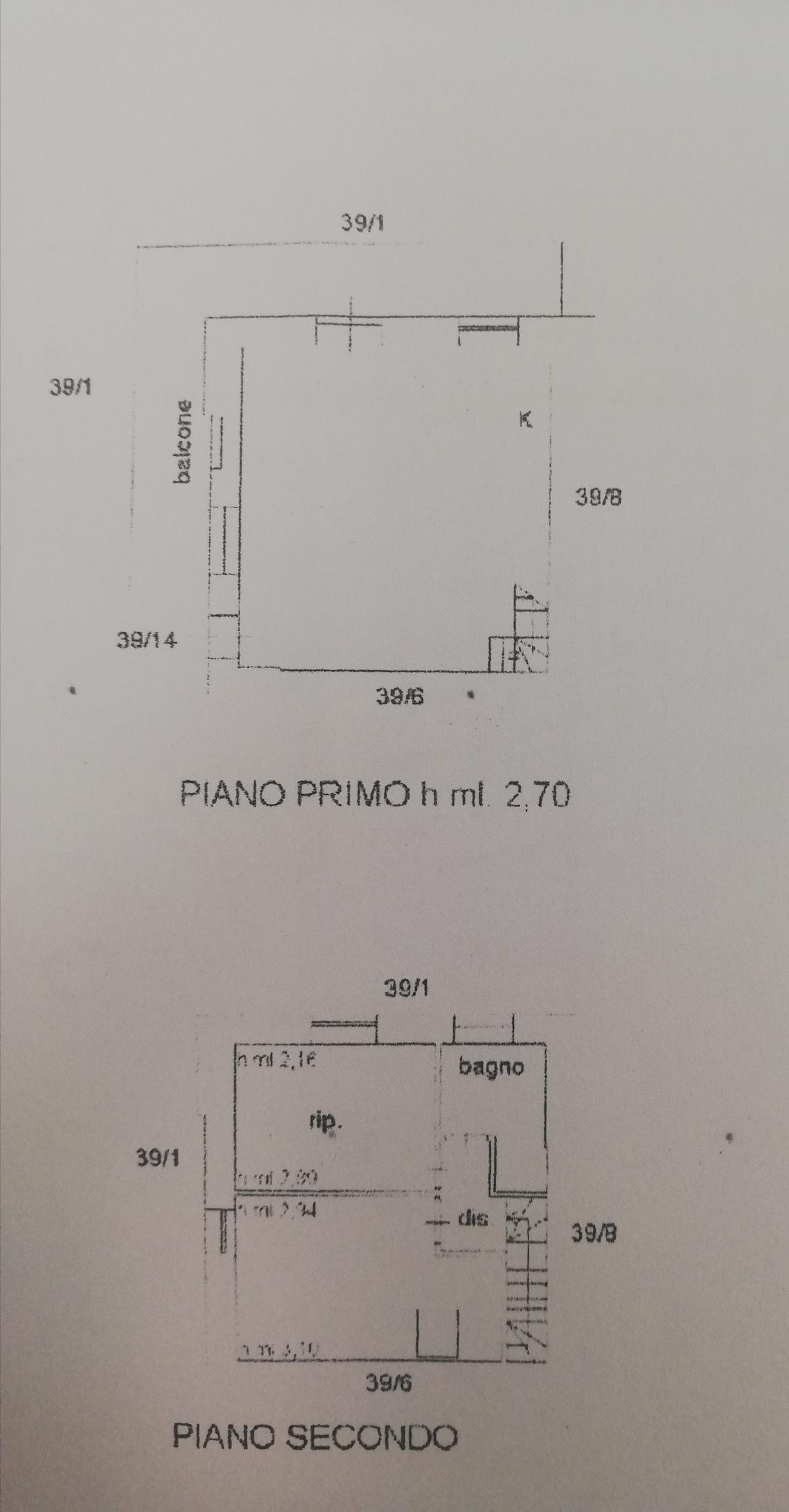 Planimetria /1 per rif. sd5848v