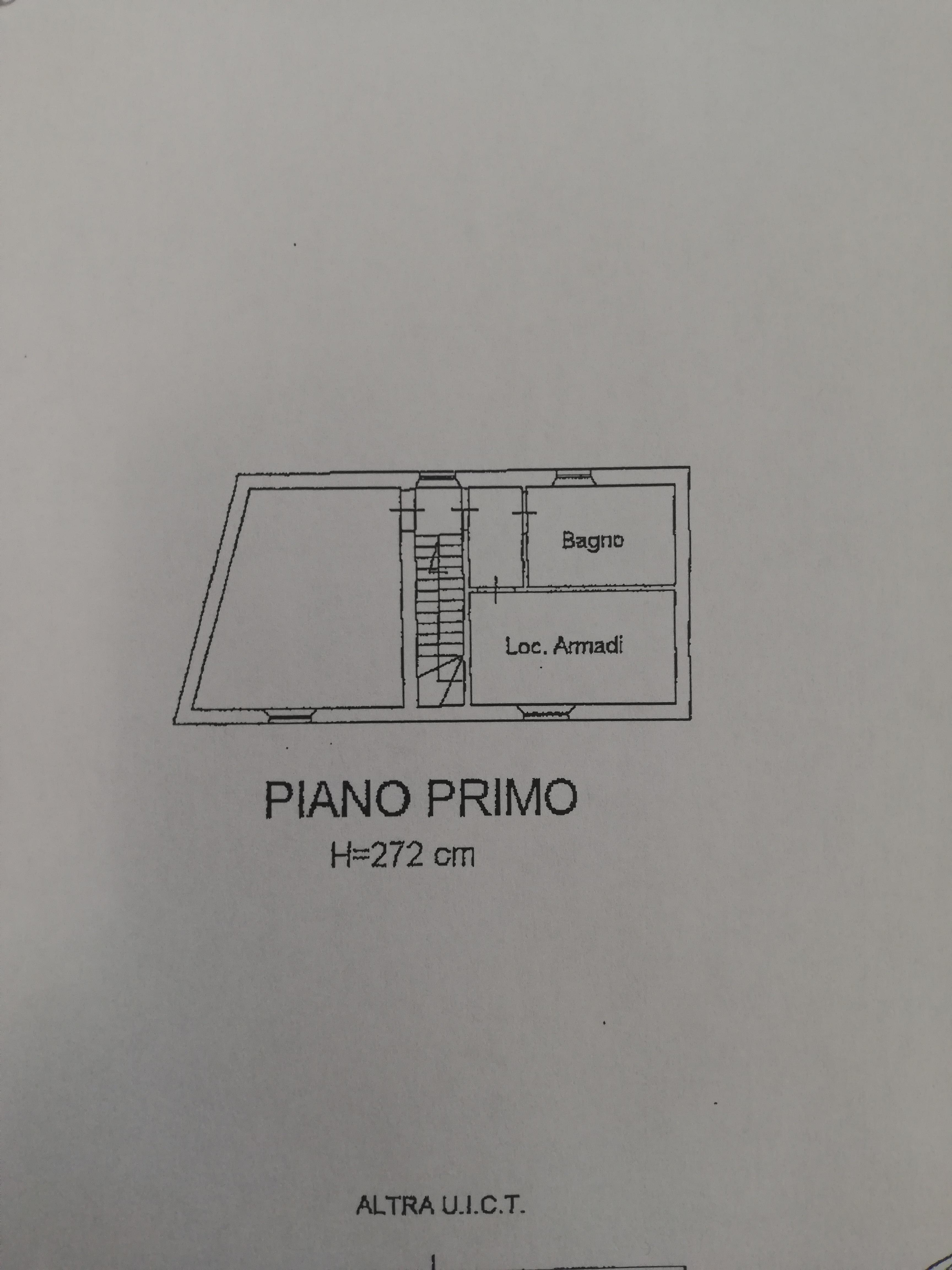 Planimetria 1/2 per rif. sd5860v