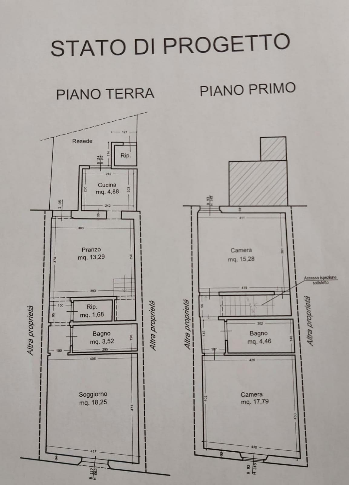 Planimetria /1 per rif. SD5866V