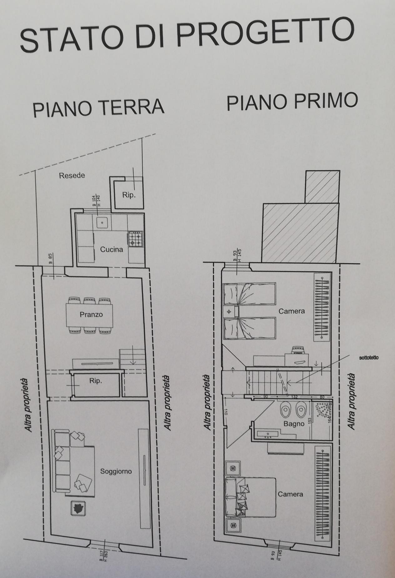 Planimetria 1/2 per rif. SD5866V