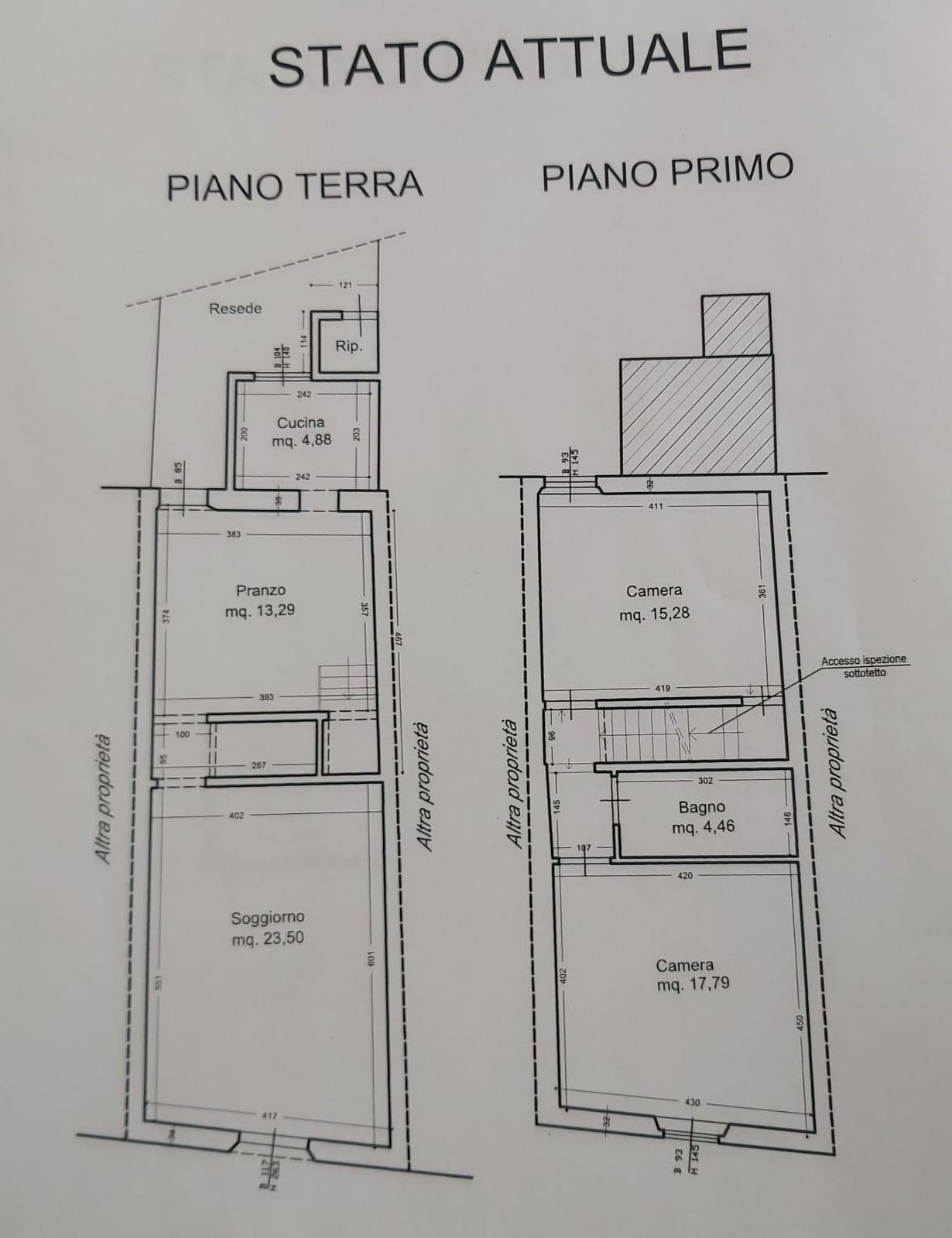 Planimetria /1 per rif. sd5867v