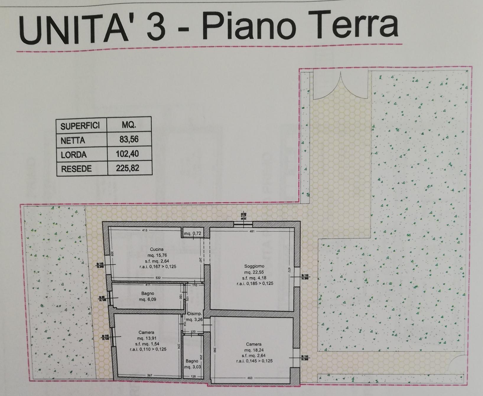 Planimetria /2 per rif. SD5870V