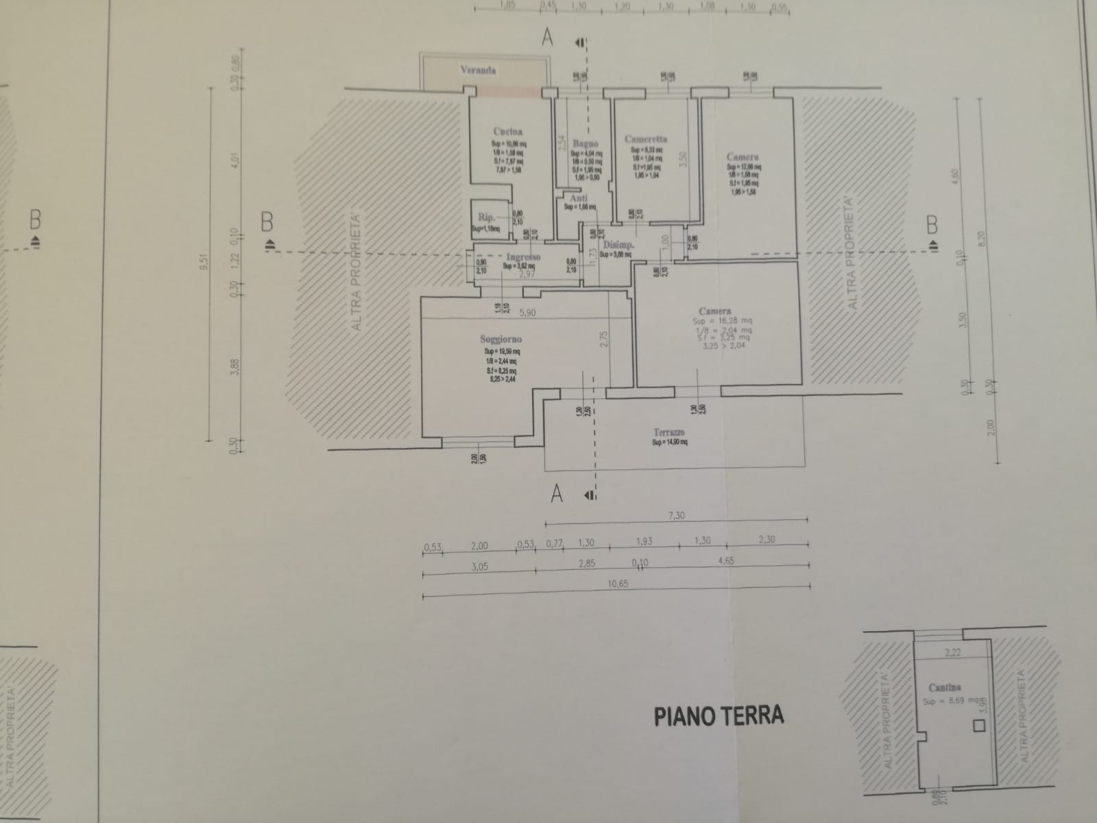 Planimetria /1 per rif. sd5898v