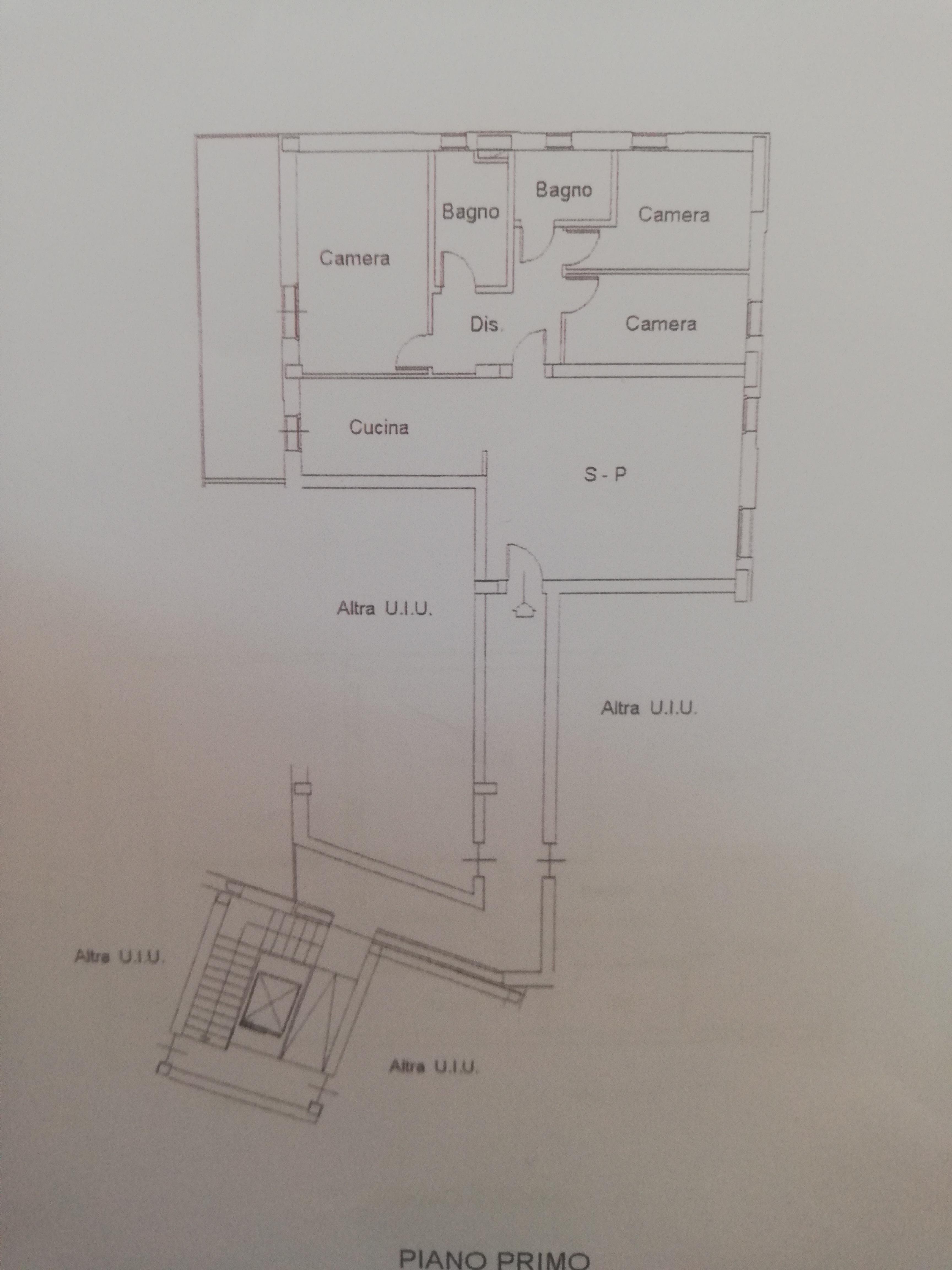 Planimetria /1 per rif. sd2387v
