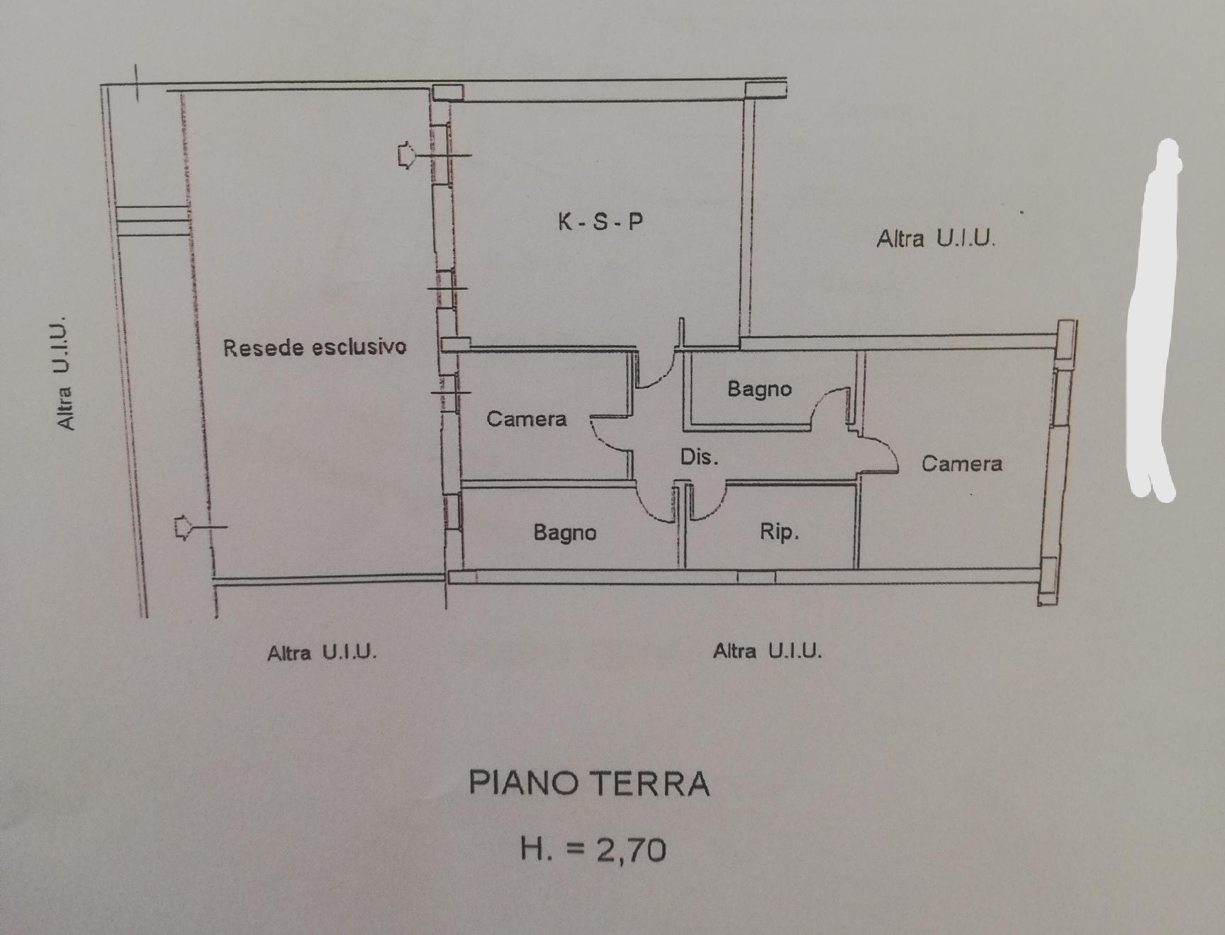 Planimetria /1 per rif. sd2383v