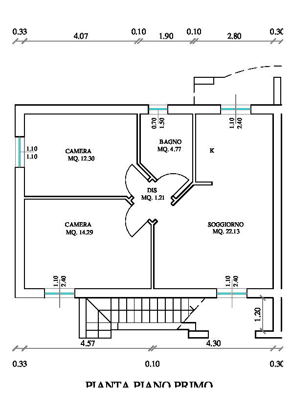 Planimetria /2 per rif. sd5947v