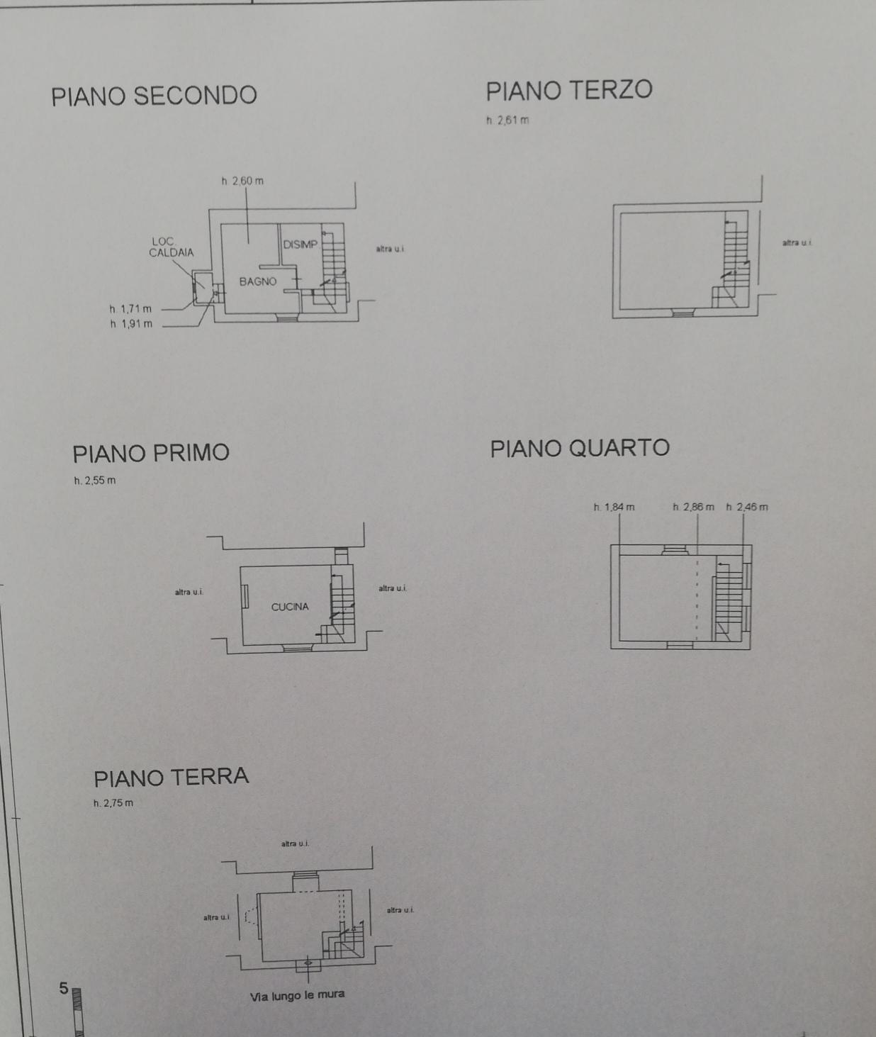 Planimetria /1 per rif. sd5959v