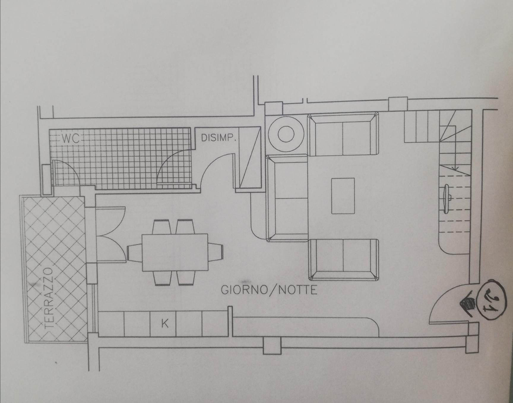 Planimetria /1 per rif. sd5964v
