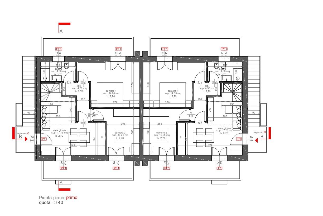 Planimetria /1 per rif. sd5913v