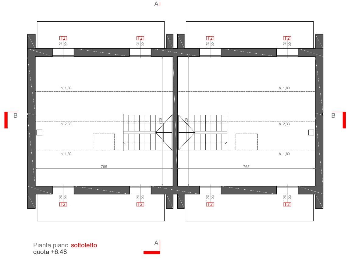 Planimetria 2/3 per rif. sd5977v