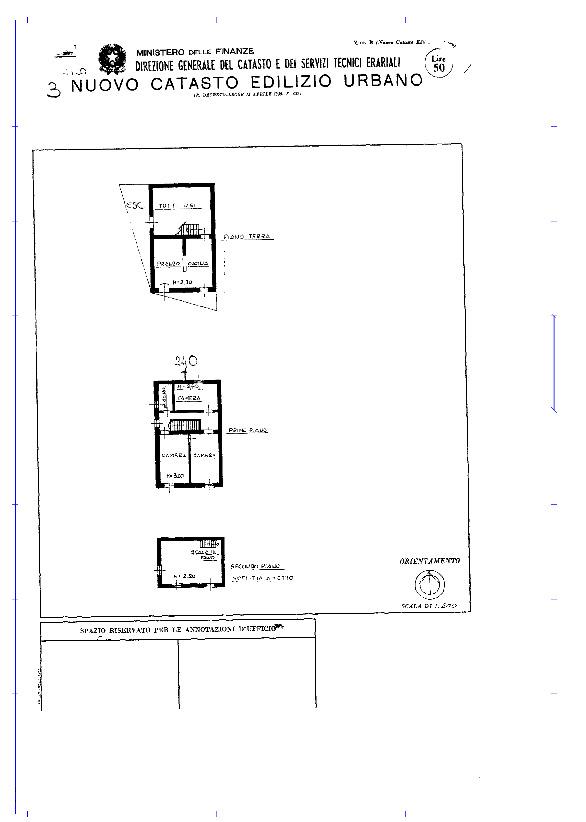 Planimetria 1/1 per rif. 1434