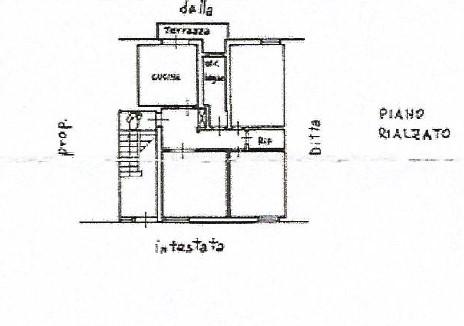 Planimetria 1/1 per rif. 1664pel