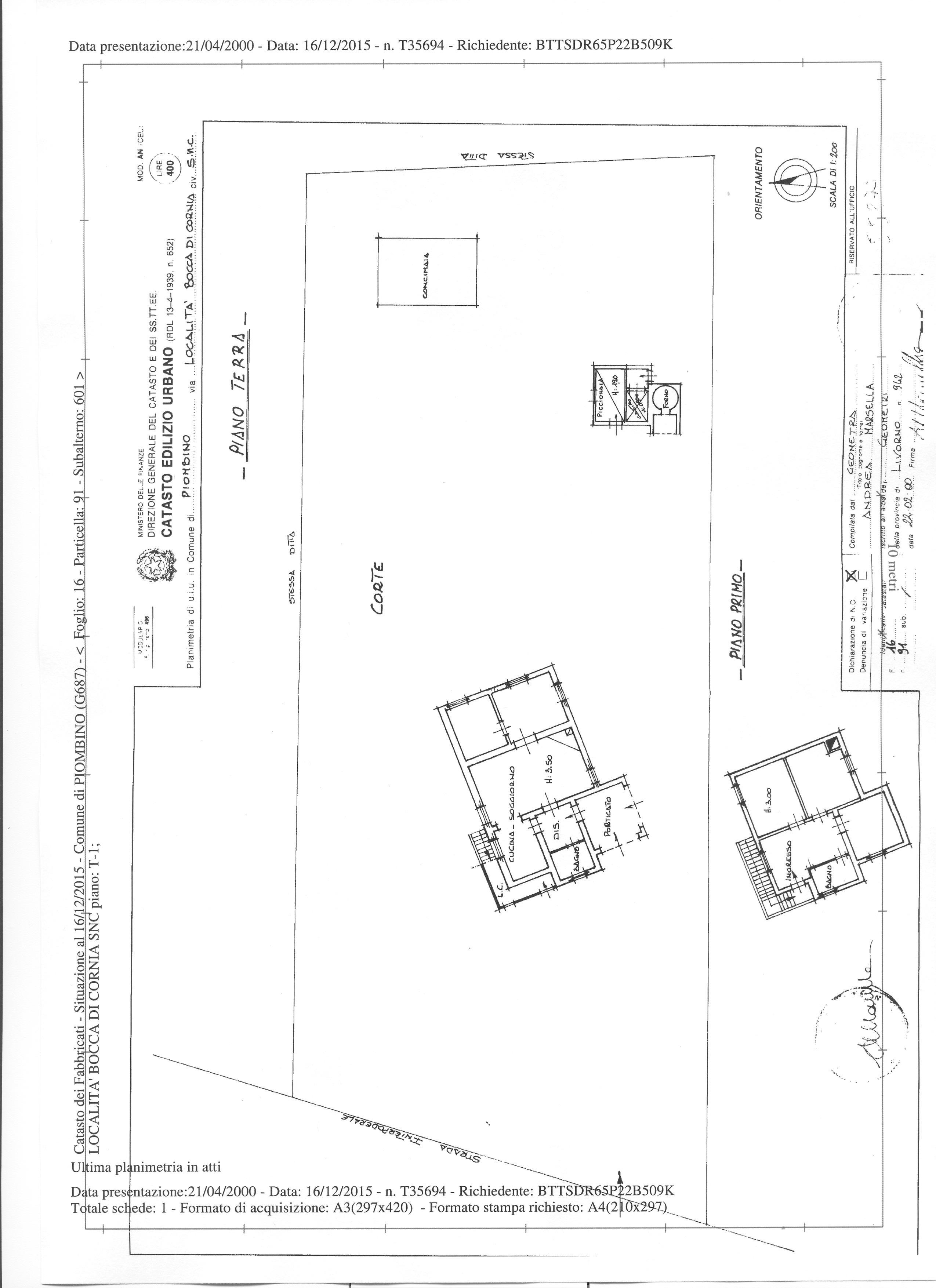 Colonica in vendita a Piombino (LI)