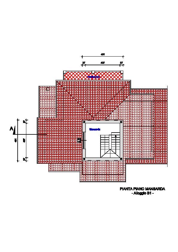 Planimetria 3/3 per rif. 332a