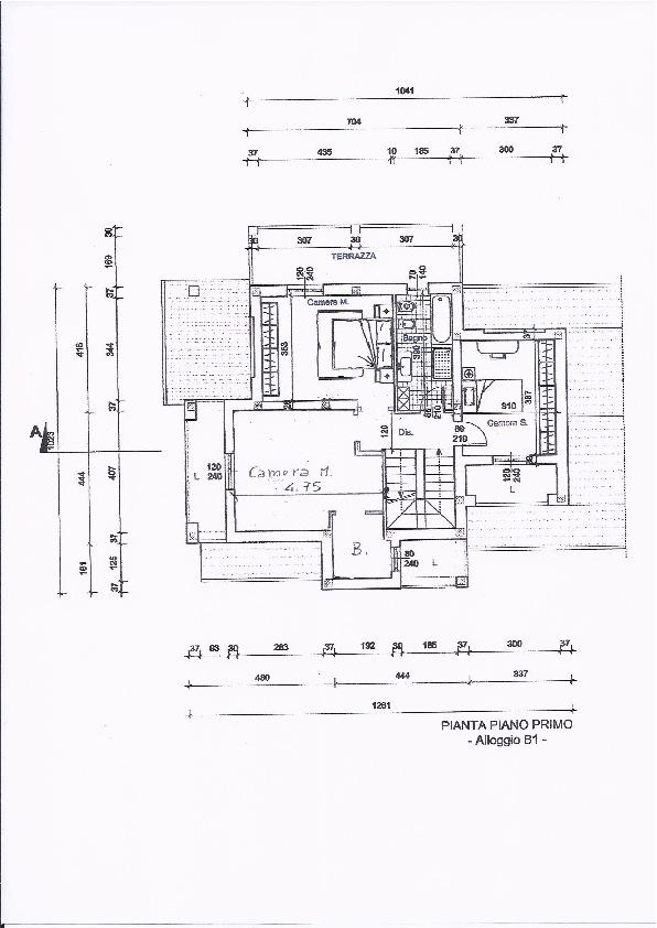 Planimetria 2/3 per rif. 332a