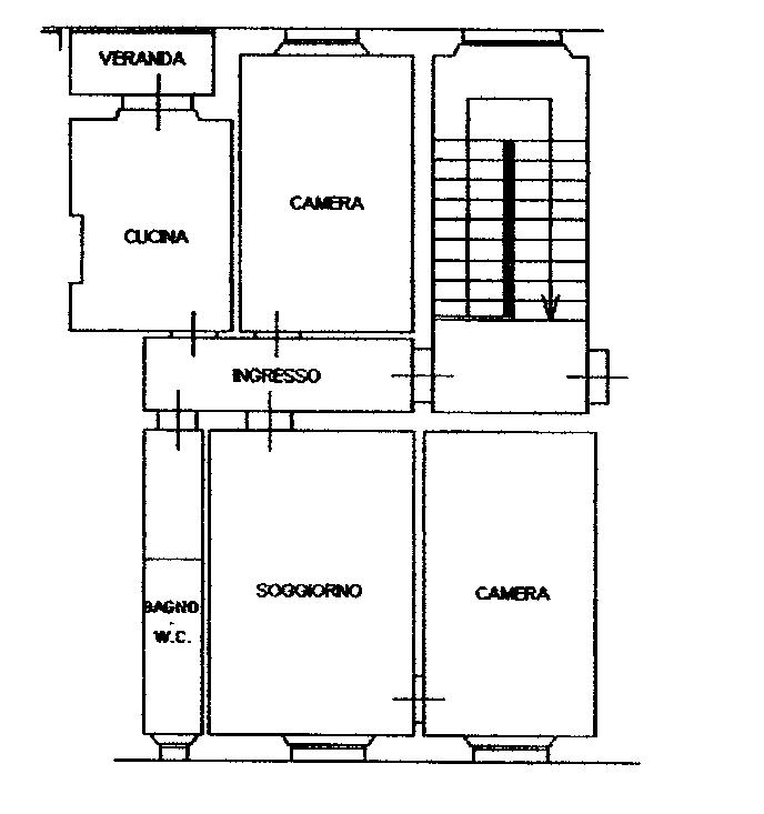 Planimetria 1/1 per rif. C1611