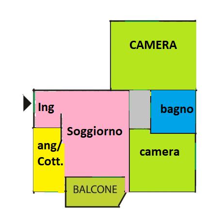 Planimetria 1/1 per rif. C1777