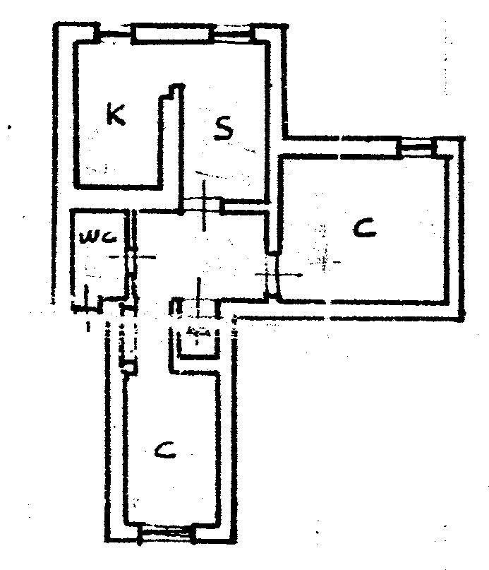 Planimetria 1/1 per rif. C1778