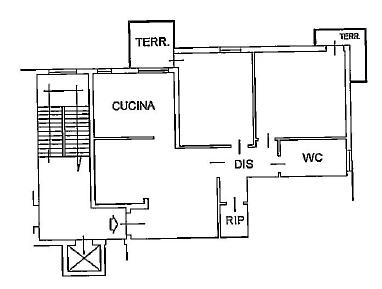 Planimetria 1/1 per rif. C1797