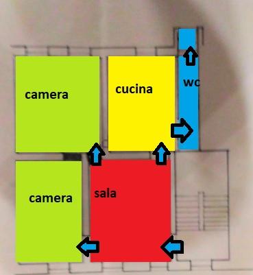 Planimetria 1/1 per rif. C1807