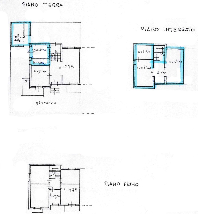 Planimetria 1/1 per rif. S2303