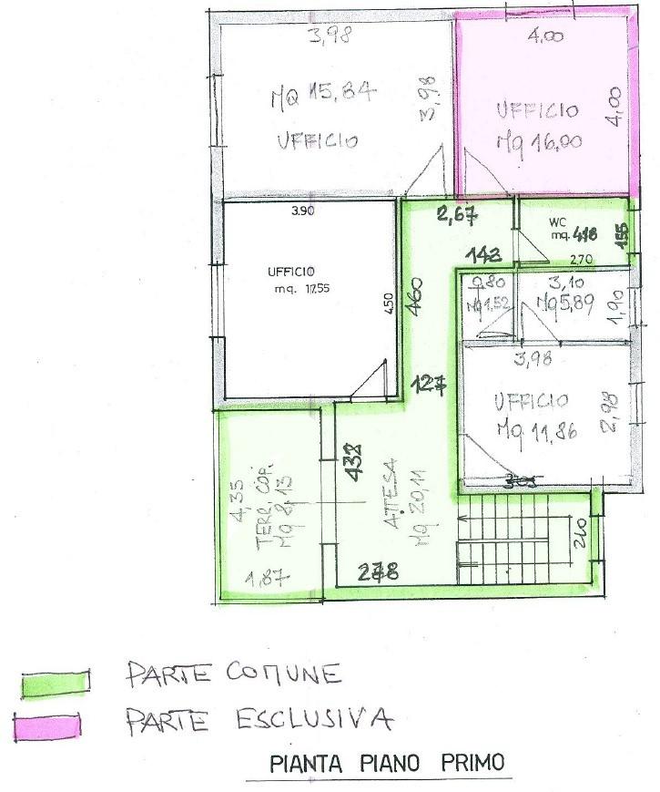 Planimetria 1/1 per rif. S2306