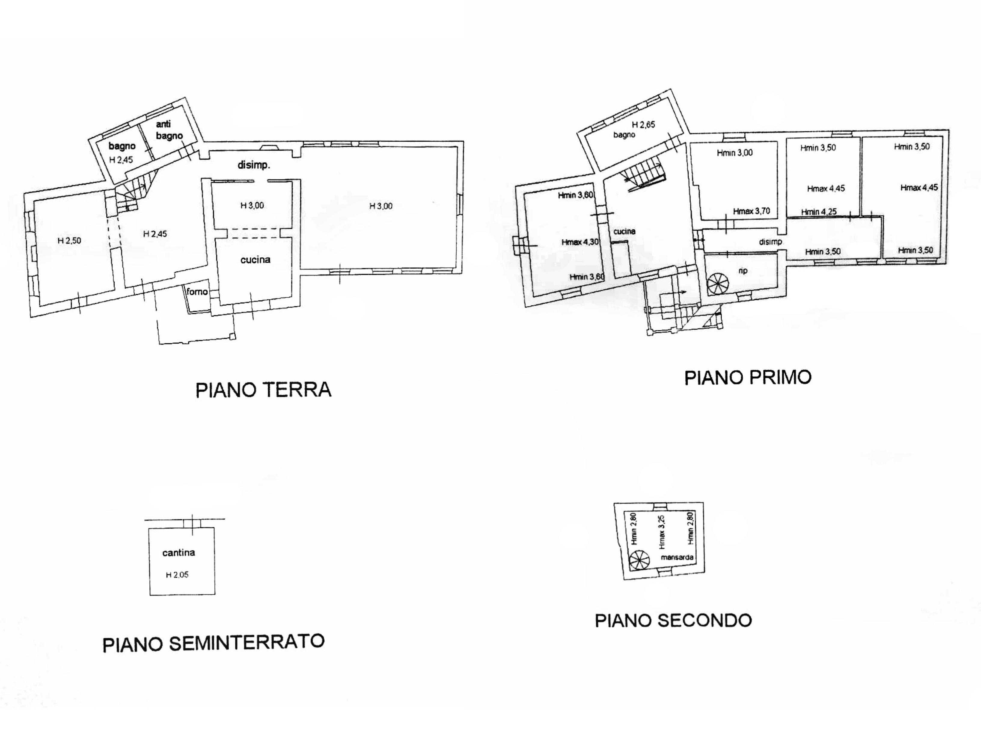 Planimetria 1/1 per rif. G1331