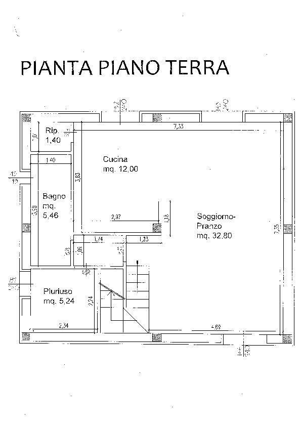 Planimetria 1/1 per rif. D1591