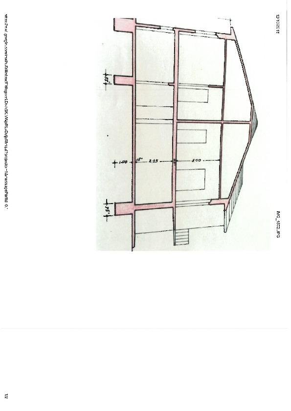 Planimetria 1/1 per rif. D1601