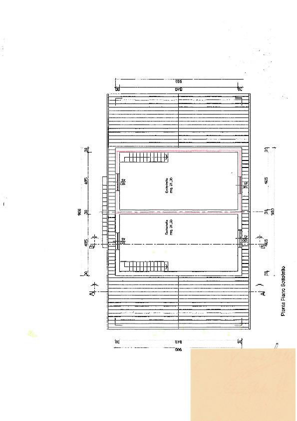 Planimetria 1/4 per rif. S1705