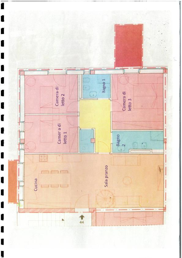 Planimetria 1/1 per rif. AL1553
